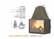 Double face archives chemin e po le godin for Cheminee double face godin