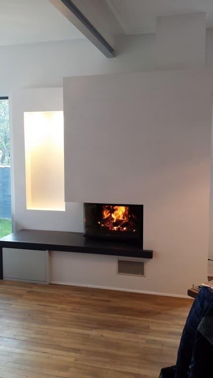 chemin e cadre en granit et foyer 747 2v pos e nantes. Black Bedroom Furniture Sets. Home Design Ideas
