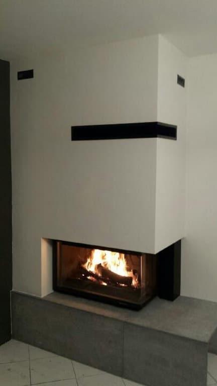 insert eco 697 3 vitres install dans chemin e existante. Black Bedroom Furniture Sets. Home Design Ideas