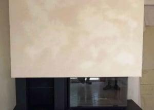 Cheminée Sureau en granit et foyer 895-2V