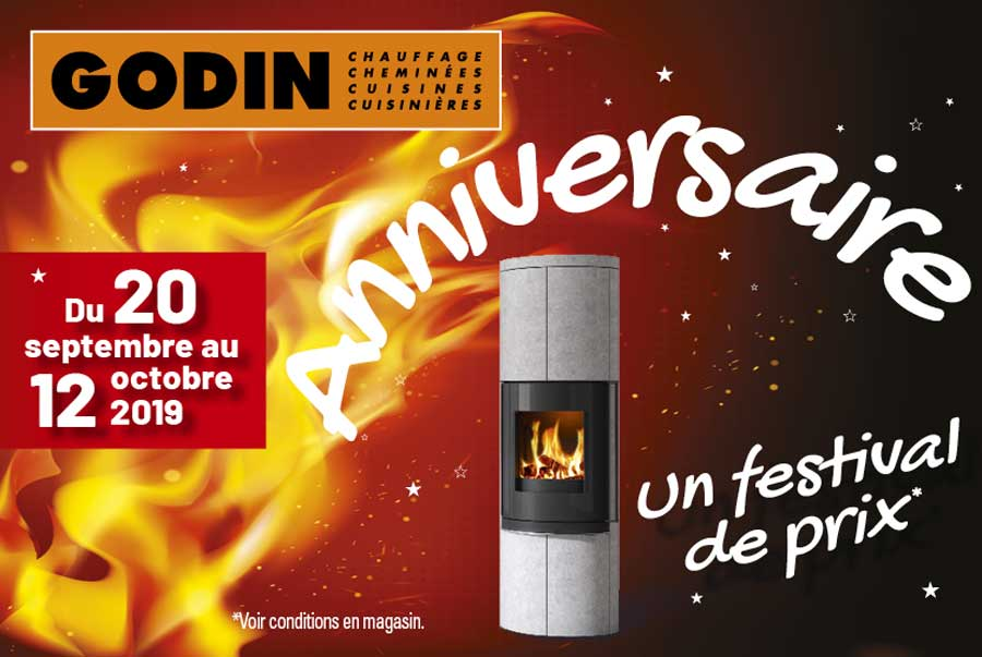 promotions Godin sept octobre 2019
