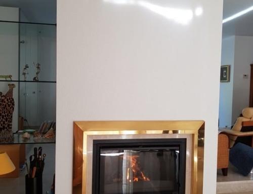 Insert 75 PV installé dans cheminée existante à St Herblain