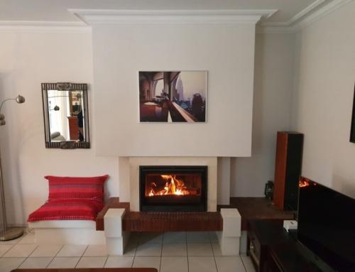 Insert 85 PV installé dans cheminée existante à Nantes