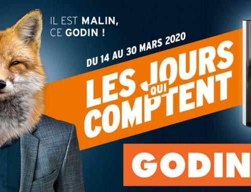 Affaires Poêles et cheminées Godin du 14 au 30  Mars 2020: Les jour qui comptent