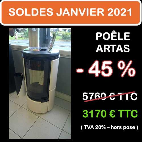 Soldes Hiver 2021 cheminées et Poêles Godin 1