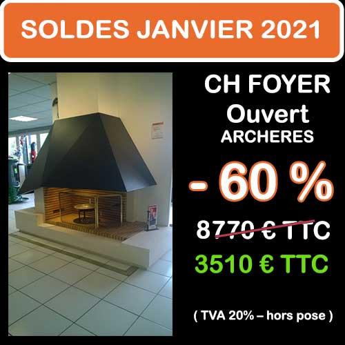 Soldes Hiver 2021 cheminées et Poêles Godin 3