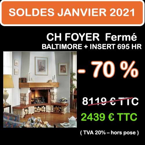 Soldes Hiver 2021 cheminées et Poêles Godin 4