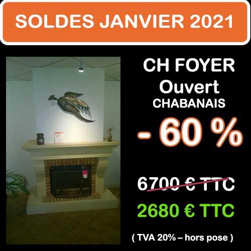 Soldes Hiver 2021 cheminées et Poêles Godin 5