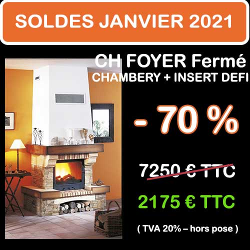 Soldes Hiver 2021 cheminées et Poêles Godin 6