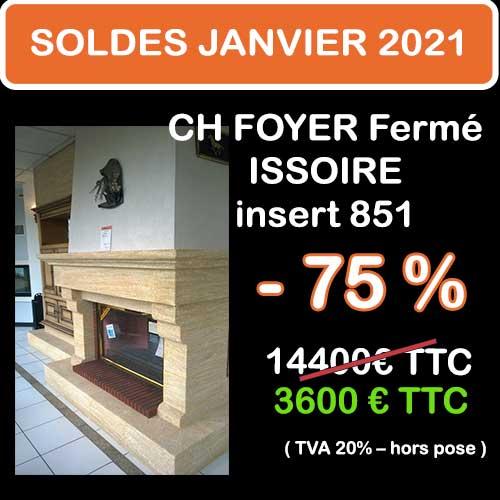 Soldes Hiver 2021 cheminées et Poêles Godin 8