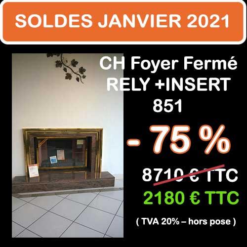 Soldes Hiver 2021 cheminées et Poêles Godin 9