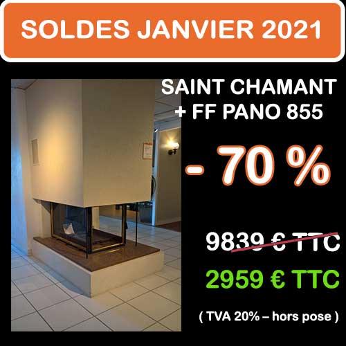 Soldes Hiver 2021 cheminées et Poêles Godin 10