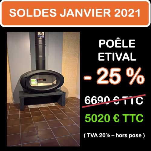 Soldes Hiver 2021 cheminées et Poêles Godin 11