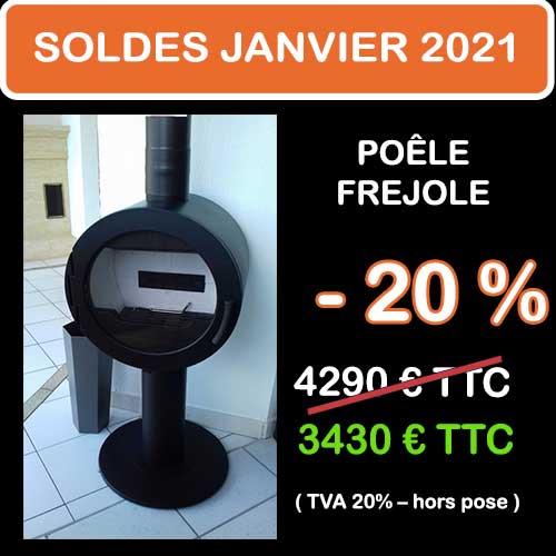 Soldes Hiver 2021 cheminées et Poêles Godin 12