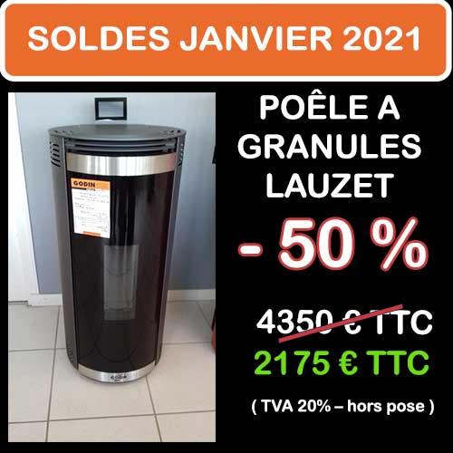 Soldes Hiver 2021 cheminées et Poêles Godin 13
