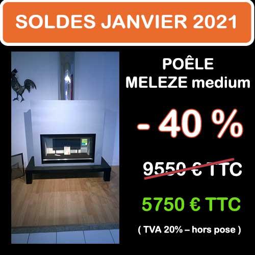 Soldes Hiver 2021 cheminées et Poêles Godin 14