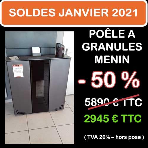 Soldes Hiver 2021 cheminées et Poêles Godin 15