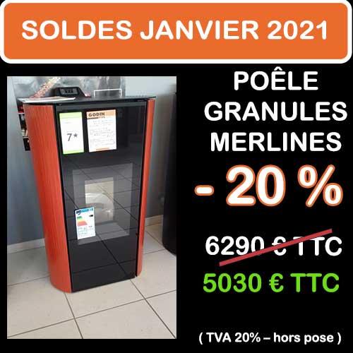 Soldes Hiver 2021 cheminées et Poêles Godin 16