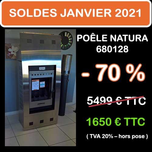 Soldes Hiver 2021 cheminées et Poêles Godin 17